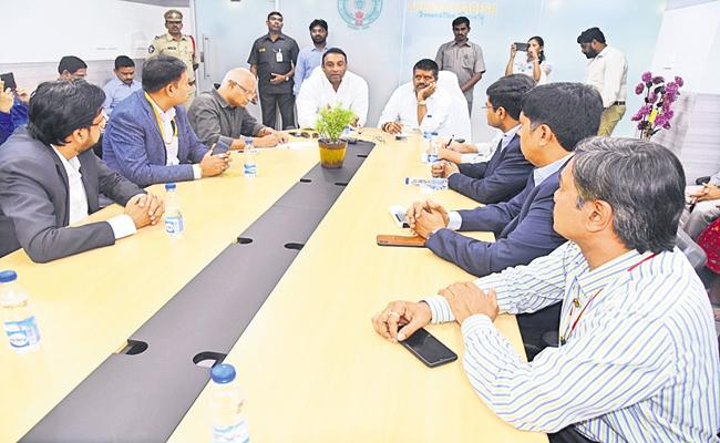 New IT policy will be soon - Sakshi