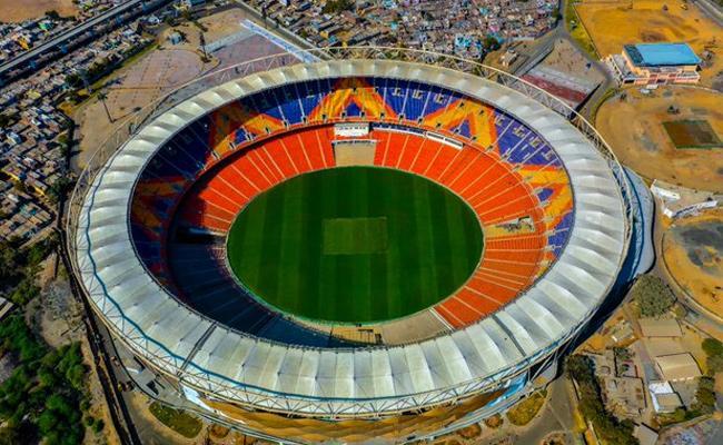 Motera Stadium Photos Viral - Sakshi