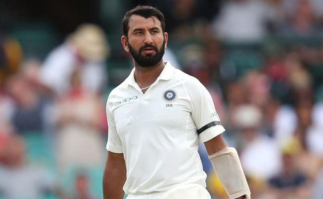 Pujara Deal With Gloucestershire County Team - Sakshi