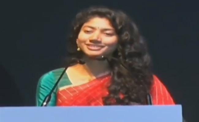 Sai Pallavi Says Hyderabad Is Safe City For Women - Sakshi