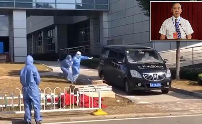 Covid 19 Wuhan Doctor Liu Zhiming Wife Emotional Farewell - Sakshi