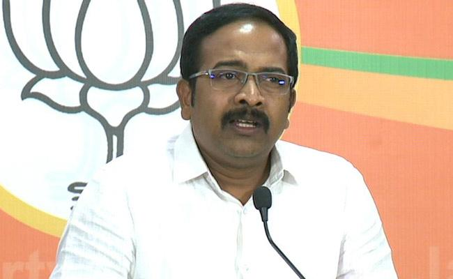 BJP Chief Spokesperson Krishna Sagar Rao Slams On Asaduddin Owaisi - Sakshi
