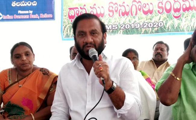 MLA Nallapureddy Prasanna Kumar Reddy Comments On Chandrababu - Sakshi