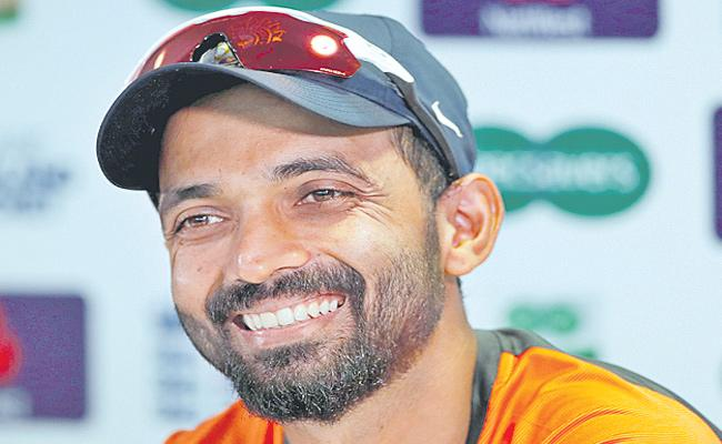 Ajinkya Rahane Speaks Over Test Match Against New Zealand - Sakshi
