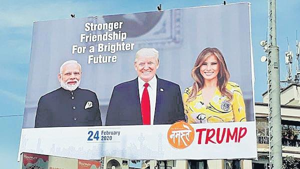 Trump comments that US not treated well by India - Sakshi