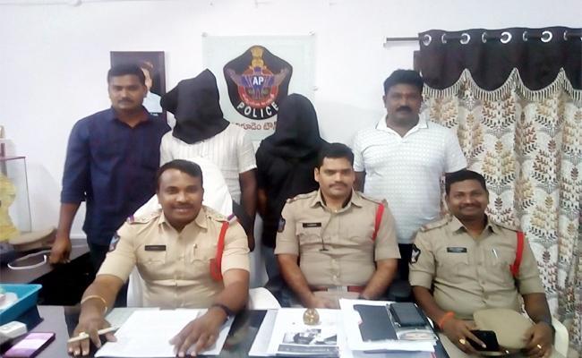 Two Men Arrest in Blackmailing Case West Godavari - Sakshi