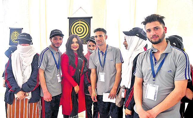 Kashmir Students Visit Hyderabad - Sakshi