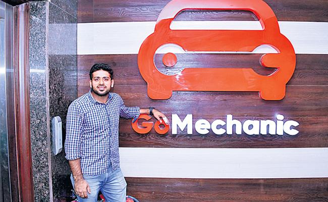 Go Mechanic Startup Company Special Story - Sakshi