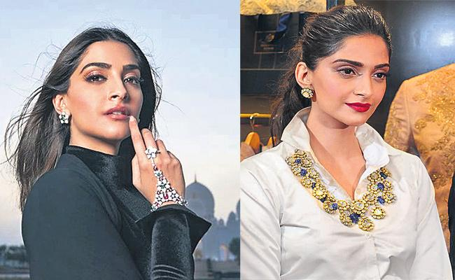Indian Jewellery on Western Fashion - Sakshi
