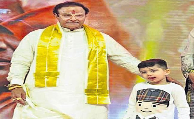 Nara Lokesh reveals that grandfather gifted heritage shares to Devansh - Sakshi