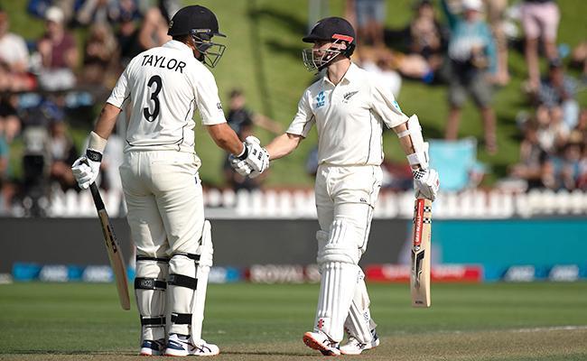 IND Vs NZ: Williamson Falls Short Of Century - Sakshi