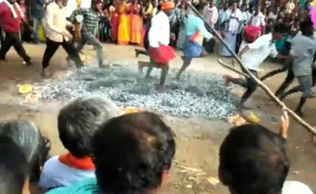 Two Persons Injured Seriously In Furnace In Nalgonda - Sakshi