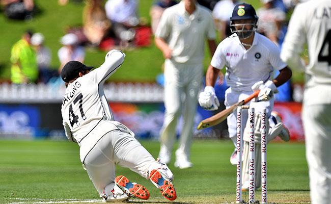 IND VS NZ 1St Test: Pant Run Out Netizens Fire On Rahane - Sakshi
