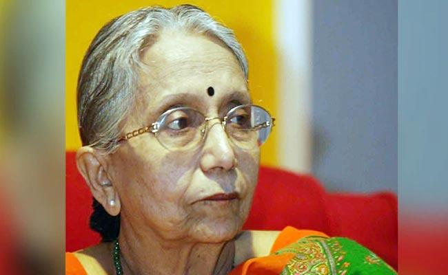 Academician And Former MP Krishna Bose Passed Away - Sakshi