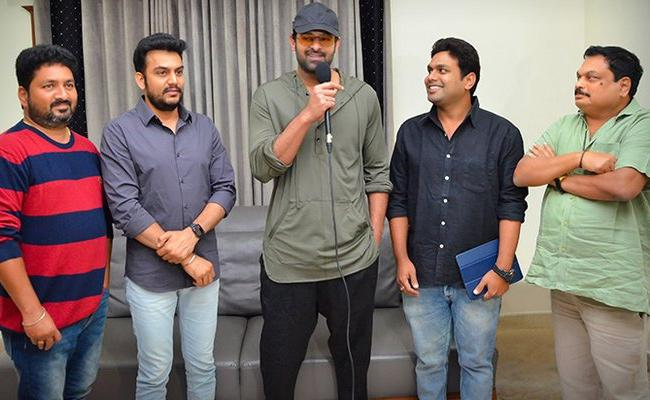 22 Movie First Song Lyrical Video Launched By Prabhas - Sakshi