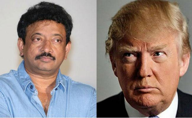 Ram Gopal Varma Comments On Trump India Tour To Welcome With 10 Million People  - Sakshi