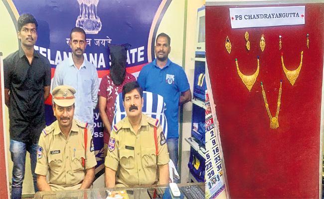 Brother Arrested in Sister Gold Robbery Case Hyderabad - Sakshi