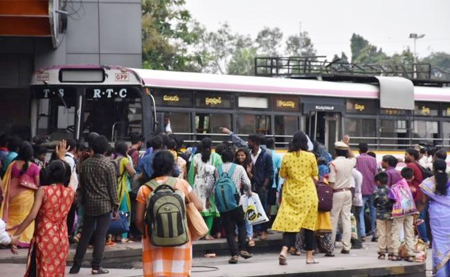 Corruption in TSRTC Strike Time Hyderabad - Sakshi