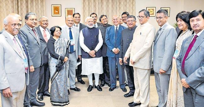 Narendra Modi inaugurates International Judicial Conference 2020 - Sakshi