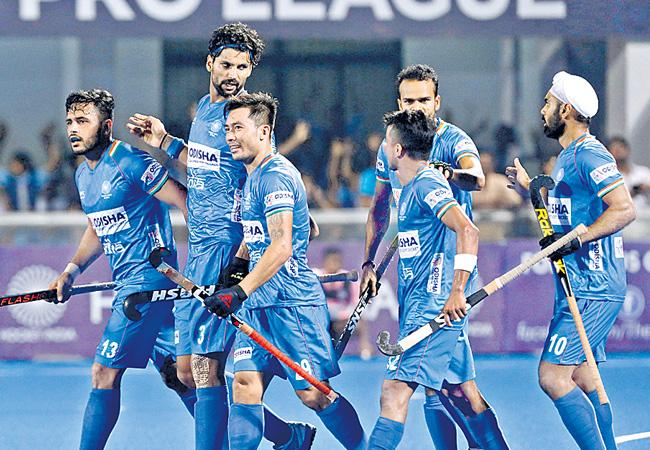 Aussies Shootout With Indian Team In Pro Hockey League - Sakshi