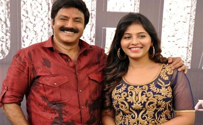 Actress Anjali To Work With Balakrishna And Boyapati New Telugu Movie - Sakshi