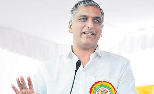 Telangana Municipalities Will Inspire To Nation Says Harish Rao - Sakshi