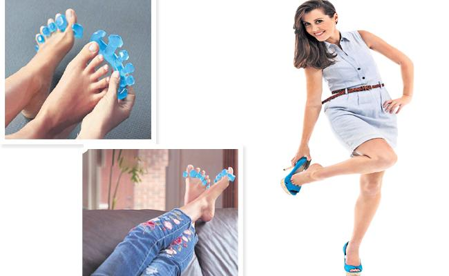 Yoga Toes For Who Wear High Heels - Sakshi