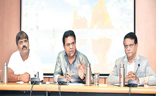 KTR Speech About New Municipal Law In Hyderabad - Sakshi