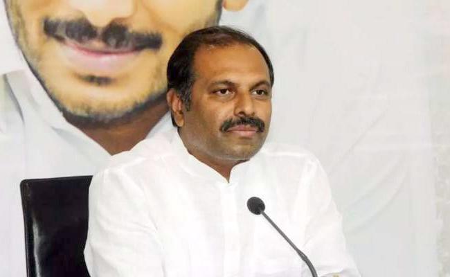 Government Chief Whip Gadikota Srikanth Reddy Fires On CPI Leader Ramakrishna - Sakshi