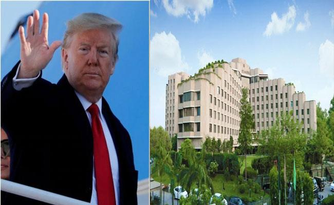 Trump Going To Stay In Delhi Hotel Suite To Night Costs Rs 8 Lakh A Night - Sakshi