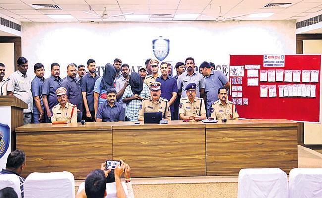 OG Kuppam Gang Arrest in Hyderabad - Sakshi