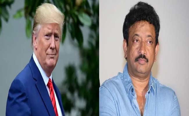 Ram Gopal varma Satirical Tweets On Trump India Visit - Sakshi