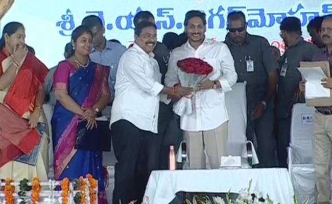 CM YS Jagan Reached Vijayanagaram Today - Sakshi