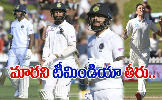 India Vs New Zealand 1st Test Hosting Team Won By 10 Wickets - Sakshi