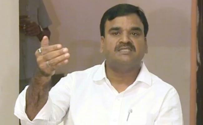 Deputy CM Amjad Basha Slams On Chandrababu Naidu In YSR Kadapa - Sakshi