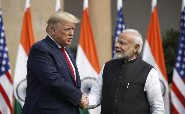 Donald trump India Visit: Trump Reach Hyderabad House - Sakshi