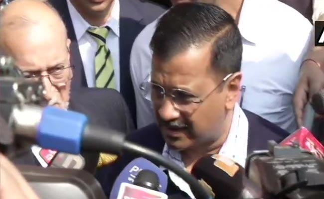 Arvind Kejriwal Comments About Delhi Clashes - Sakshi