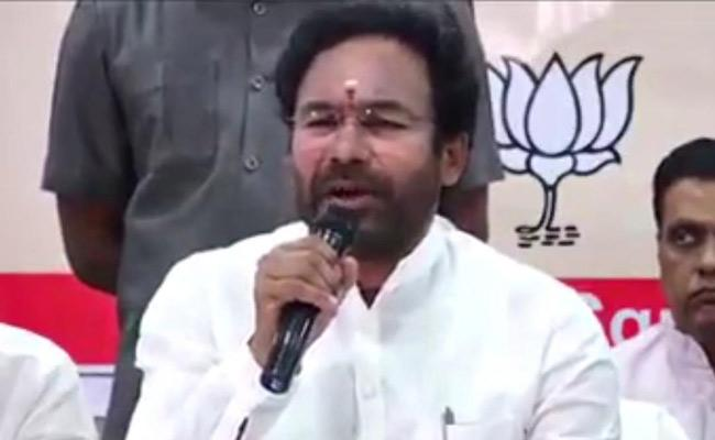 Union Minister Kishan Reddy Participated Gram Sabha In Rangareddy District - Sakshi