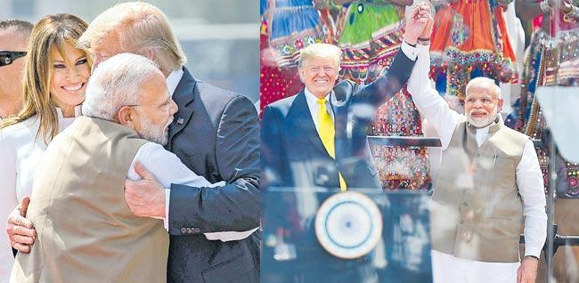 America Loves India Says US President Donald Trump - Sakshi