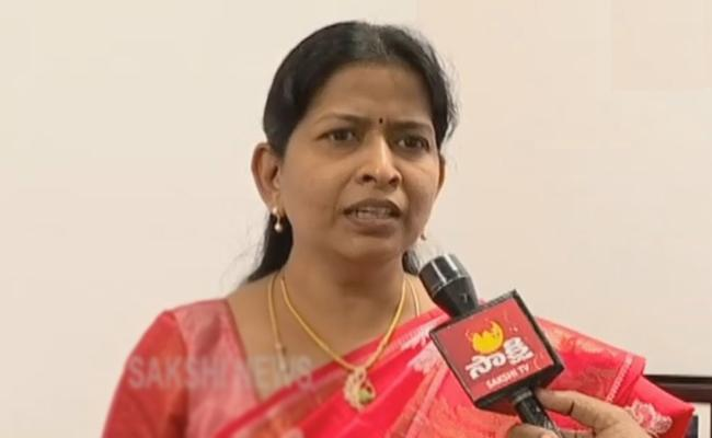Minister Taneti Vanitha Review Meeting On Women And Child Welfare Department - Sakshi