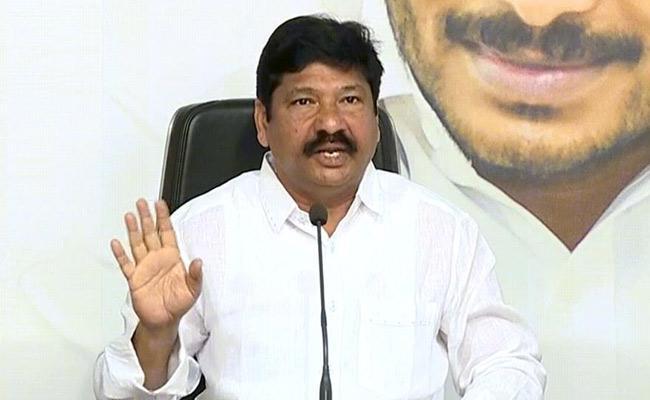 YSRCP MLA Jogi Ramesh Slams On Chandrababu Naidu And TDP In Tadepalli - Sakshi