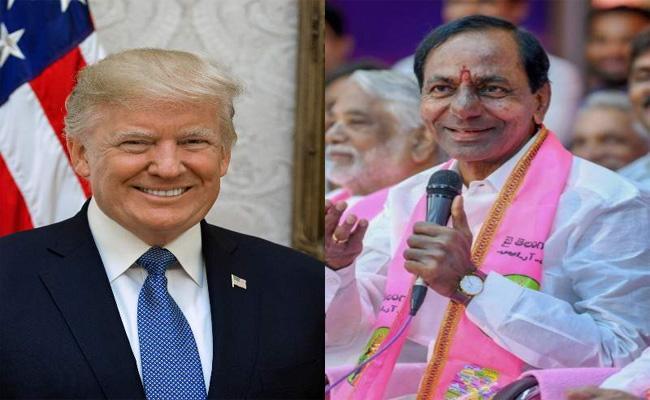 Telangana CM KCR Gift For Donald Trumph Couple - Sakshi