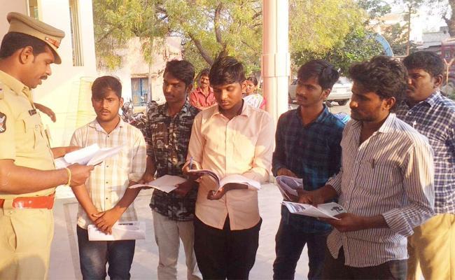 Fake Certificate issue in Private Degree College Prakasam - Sakshi