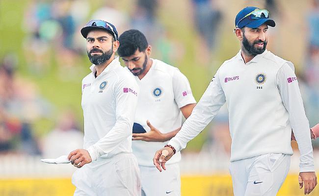 New Zealand Won Test Match Against India - Sakshi