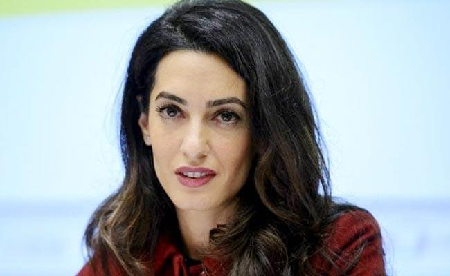 Amal Clooney To Fight For Rohingyas At UN Court Represent Maldives - Sakshi