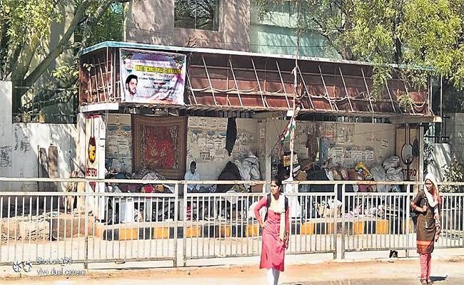 Sakshi Visit on Hamara Hyderabad Bus Shelters