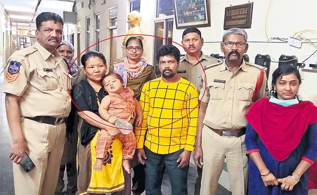 Kidnap Case Filed on Women in Gandhi Hospital Hyderabad - Sakshi