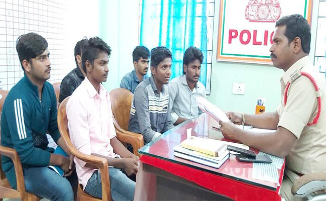 Prakasam Police Enquiry on Btech Student Complaints - Sakshi