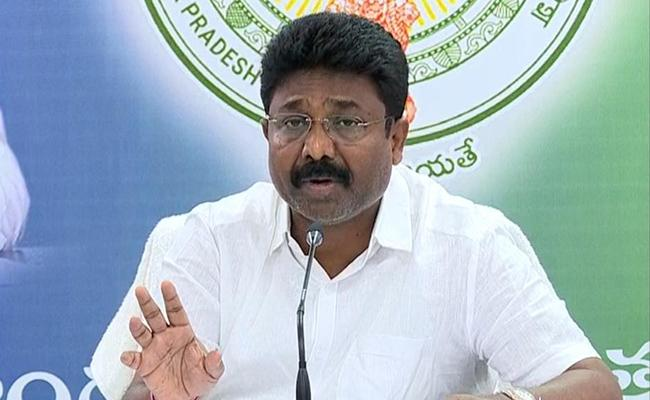 Minister Adimulapu Suresh Video Conference Over Tenth And Inter Examination - Sakshi
