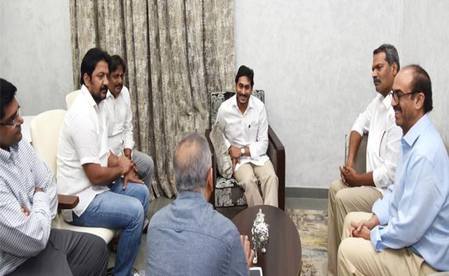 Tollywood Producers Met With AP CM YS Jagan - Sakshi